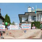 Protest pod Ambasadą Kazachstanu